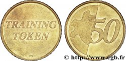 EUROPEAN CENTRAL BANK 50 centimes d'euro, Training Token n.d. Pessac
