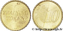 EUROPEAN CENTRAL BANK 10 centimes d'euro, Training Token n.d. Pessac