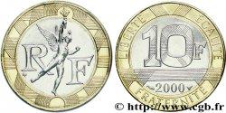 10 francs Génie de la Bastille, BU (Brillant Universel) 2000 Pessac F.375/17 FDC