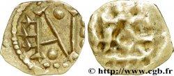 MONNAIE MÉROVINGIENNE - POITOU - METALVS VICVS - Melle (Deux-Sèvres) Obole au monogramme EAV
