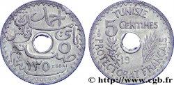TROISIÈME RÉPUBLIQUE - TUNISIE - PROTECTORAT FRANÇAIS Essai de 5 centimes 19(31) Paris FDC  65
