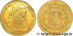 SPAIN - CHARLES IV 4 escudos en or 1791 Madrid