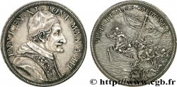 ITALIE - ÉTATS DE LÉGLISE - INNOCENT XI (Benoît Odescalchi) Piastre Année 3 (1678-1679) Rome