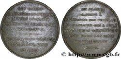 CARLO X Médaille politique commémorant les journées de juillet 1830 VF