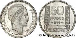 ALGERIA - FOURTH REPUBLIC Essai de 50 francs Turin 1949 Paris MS