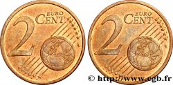 BANCO CENTRAL EUROPEO 2 centimes d'euro, double face commune n.d.