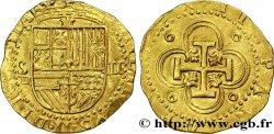 SPAIN - PHILIPPE II OF HABSBOURG Double écu d'or n.d. Séville
