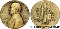 ETAT FRANÇAIS Médaille BR 32, État français par Pierre Turin