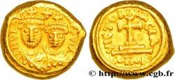 HERACLIUS and HERACLIUS CONSTANTINE Solidus