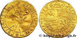 PAYS-BAS - VILLE IMPÉRIALE DE CAMPEN - RODOLPHE II DE HABSBOURG Ducat 1589