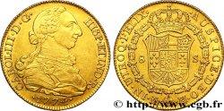 ESPAGNE - ROYAUME DESPAGNE - CHARLES III Huit escudos 1774 Madrid