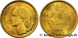 20 francs Georges Guiraud, 4 faucilles 1950 Beaumont-Le-Roger F.401/3 MS  63