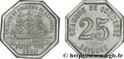 CHAMBRE DE COMMERCE DE BAYONNE 25 Centimes
