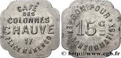 CAFE DES COLONNES CHAUVES 15 Centimes