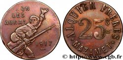 ALQUIER FRERES 25 Centimes