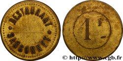 RESTAURANT SANSONNET 1 Franc