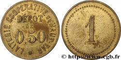 LAITERIE COOPERATIVE DU HAUT-VAR 0,50 Franc XF