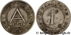 L'EGALITAIRE CONSOMMATION 1 Franc