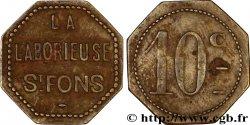LA LABORIEUSE 10 Centimes MB