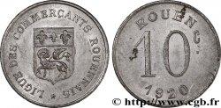 LIGUE DES COMMERCANTS ROUENNAIS 10 Centimes
