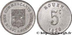 LIGUE DES COMMERCANTS ROUENNAIS 5 Centimes