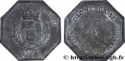 COOPERATIVE DE CONSOMMATION OLONZAGAISE 25 Centimes