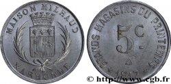 GRANDS MAGASINS DU PRINTEMPS - MAISON MILHAUD 5 Centimes