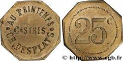 AU PRINTEMPS - CH. DESPLATS 25 Centimes SS