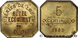 ACIERIES DE LONGWY / HOTEL ECONOMAT 5 Centimes MBC