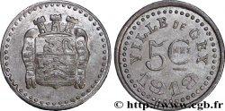 VILLE DE GEX 5 Centimes