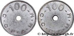 C.C.P.A.M.M 100 Francs XF