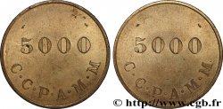 C.C.P.A.M.M 5000 Francs