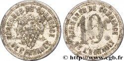 CHAMBRES DE COMMERCE DE L'HERAULT 10 Centimes MB
