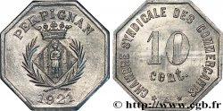 CHAMBRE SYNDICALE DES COMMERCANTS 10 Centimes SPL