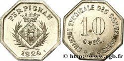 CHAMBRE SYNDICALE DES COMMERCANTS ESSAI 10 Centimes