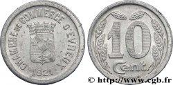 CHAMBRE DE COMMERCE D'EVREUX 10 Centimes