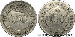 SOCIETE DE CONSOMMATION DE L'EST 0,50 Centimes XF