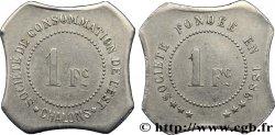 SOCIETE DE CONSOMMATION DE L'EST 1 Franc