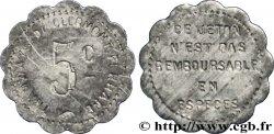 TRAMWAYS DE CLERMONT-FERRAND 5 Centimes