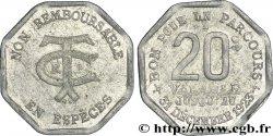 TRANSPORTS EN COMMUN REGION PARISIENNE 20 Centimes