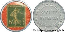 SOCIETE GENERALE Timbre 5 Centimes