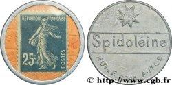 SPIDOLEINE Timbre 25 Centimes XF