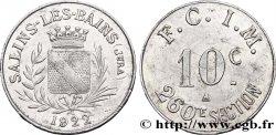 260E SECTION F.C.I.M. 10 Centimes TTB