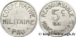 COOPERATIVE MILITAIRE 5 Centimes