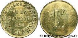 MINES DE LIGNITES DE LA SAVOIE 1 Franc