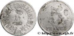 SOCIÉTÉ COOPERATIVE DE THAON-LES-VOSGES 5 Centimes / Francs VF
