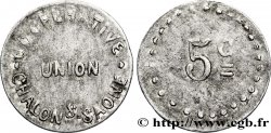 COOPERATIVE UNION 5 Centimes VF