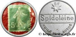 SPIDOLEINE Timbre 5 Centimes