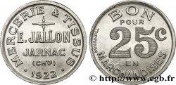MERCERIE & TISSUS E. JALLON 25 Centimes