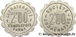 SOCIETE COOPERATIVE LA FRATERNITE 2 Francs AU